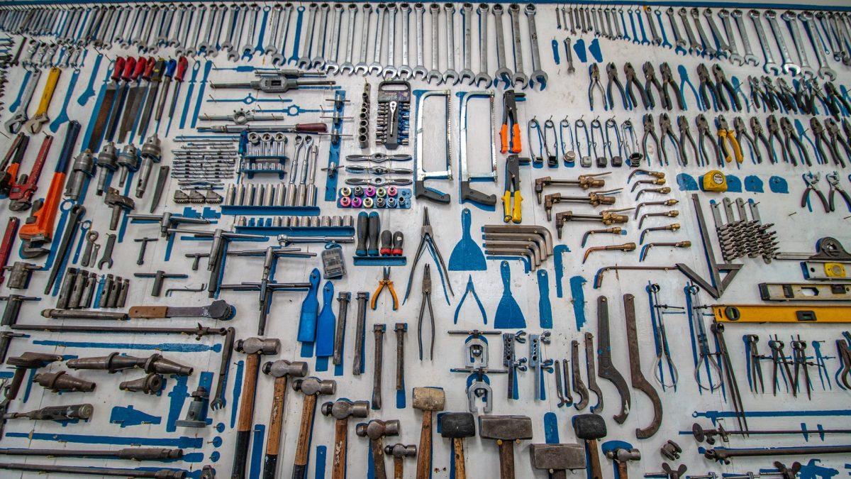 Les outils du bricoleur débutant 1